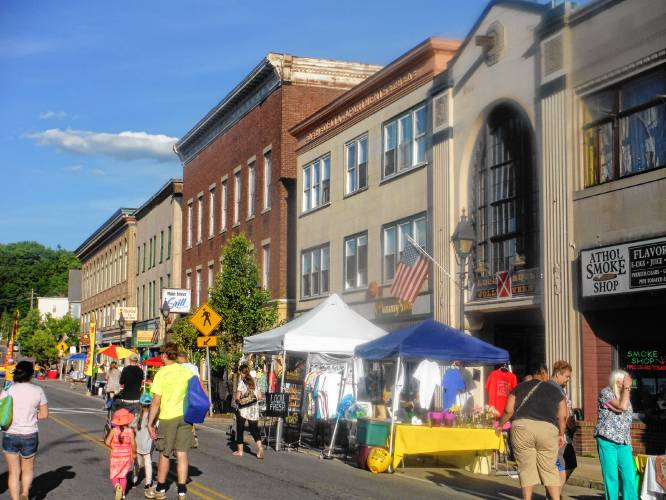 Athol Daily News - Numerous vendors signed up for First