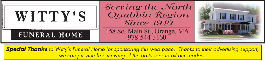 Athol Daily News - Obituaries-Archives