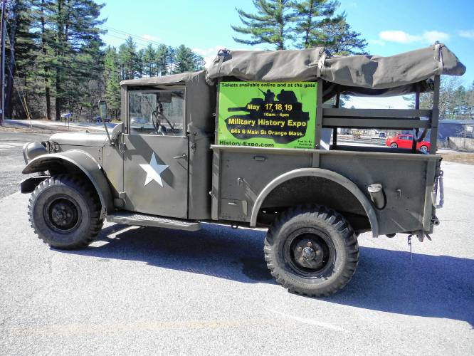 Athol Daily News - Famed Whiskey 7 troop transport plane to